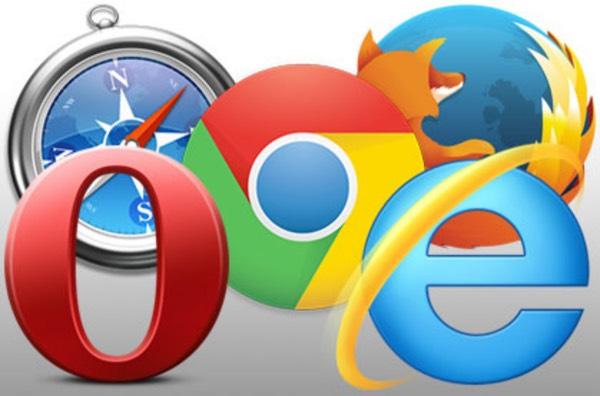 Популярные браузеры (логотипы)