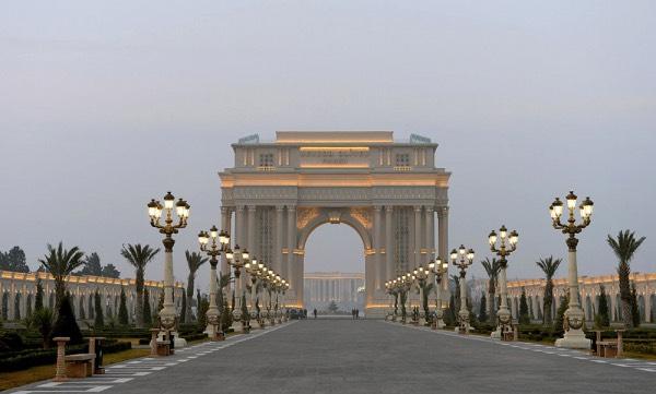 Центр города Гянджа (фото)