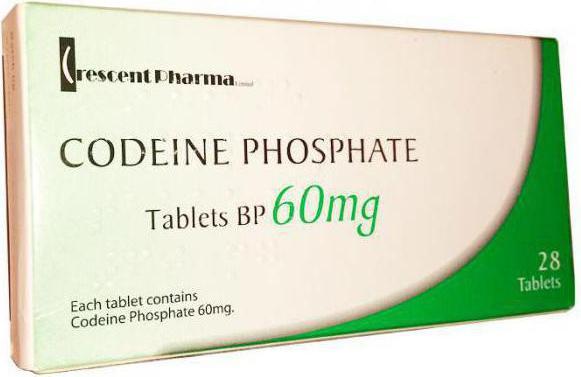 Коробка таблеток кодеина - пурун (фото)