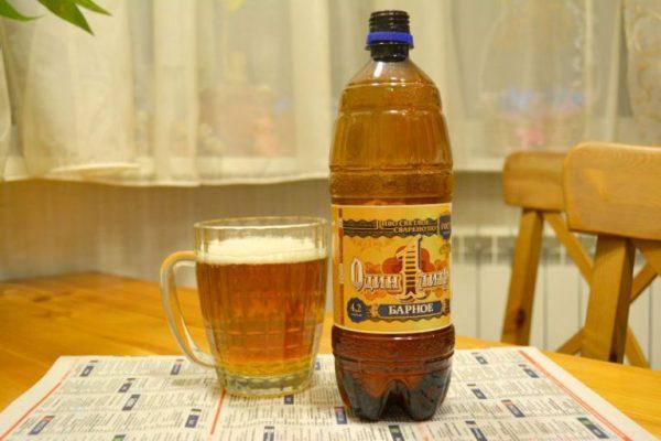 Пэлтэр или 1,5 литра пива в бутылке (фото)