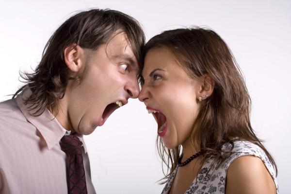 Ссора или женский и мужской ор