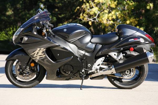 Мотоцикл Suzuki Hayabusa - Буса (фото)