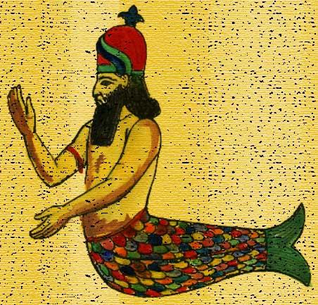 Дагон - бог Филистимлян